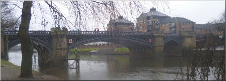 Skeldergate Bridge over the River Ouse in York