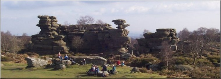 Brimham Rocks - a National Trust site near Pateley Bridge